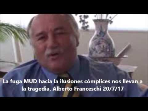 La fuga MUD hacia la ilusiones cómplices nos llevan a la tragedia, Alberto Franceschi 20/7/17