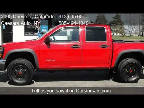 2005 Chevrolet Colorado Ls Z85 Crew Cab 4wd W1sc For Sale Youtube