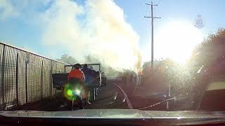 Man Pulled From Burning Car by Gympie Police