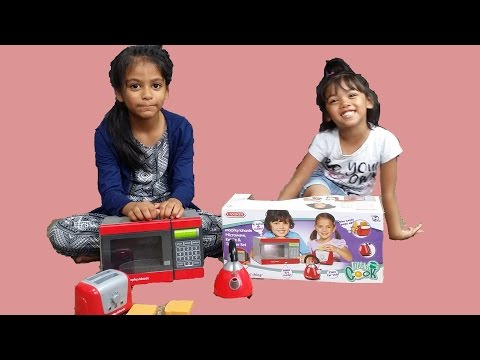 Morphy Richards Microwave Kettle and Toaster | Surprise Toy Unboxing & Review by Kids