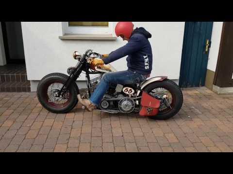 Custom Harley Davidson Panhead and Shovelhead