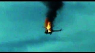 Сирия. 2013. Горящий вертолет режима падает...(Повстанцами сбитый военный вертолет кровавого режима ассадитов, горит и падает..., 2013-05-14T16:31:13.000Z)