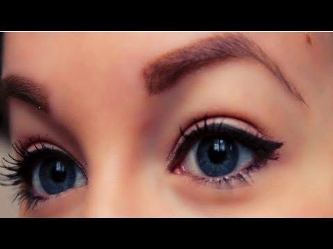 maquillage eye liner noir tuto. Black Bedroom Furniture Sets. Home Design Ideas