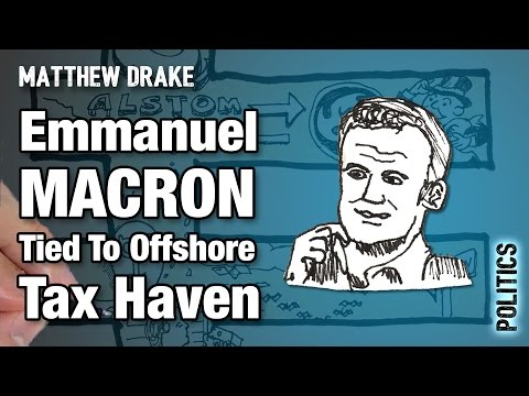 Emmanuel MACRON Tied To Offshore Tax Haven — LEAKED Documents Point To Tax Evasion