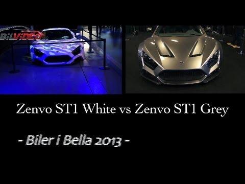 Zenvo ST1 White VS Grey - Which your favorite? Biler i Bella 2013