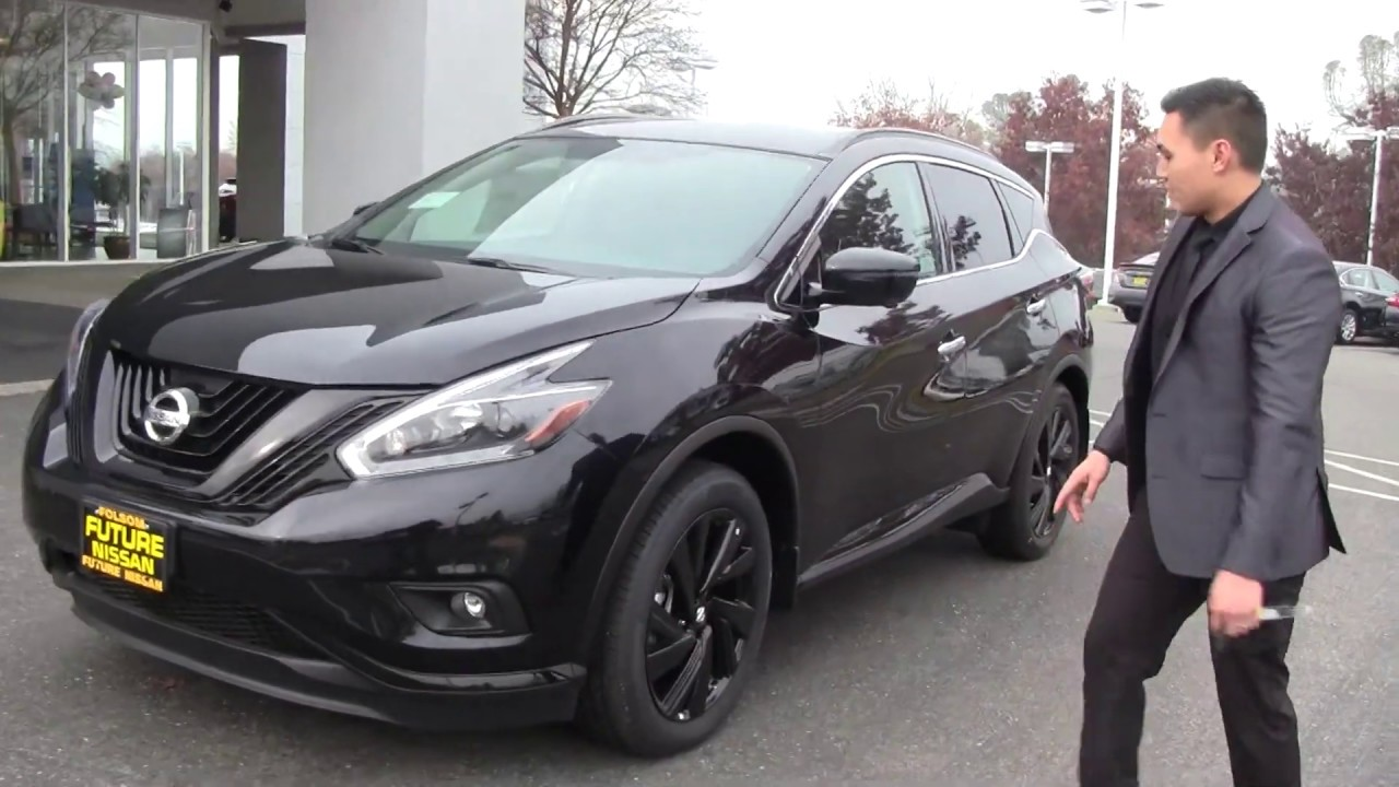 Future Nissan Of Folsom >> 2018 Nissan Murano SL Midnight Edition - Future Nissan of Folsom - YouTube