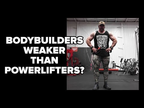 11 Things Bodybuilders Can Study From Powerlifters