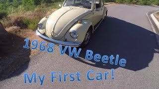POV Drive: 1968 Vw Beetle | My First Car!