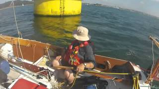 Dinghy cruising up the River Lynher: the trailer!