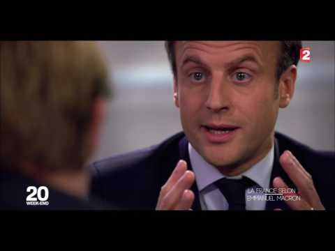 Interview d'Emmanuel Macron par Laurent Delahousse | France 2