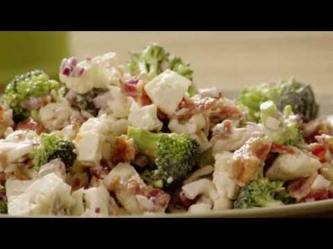 How To Make Broccoli Cauliflower Salad   Salad Recipe   Allrecipes.com