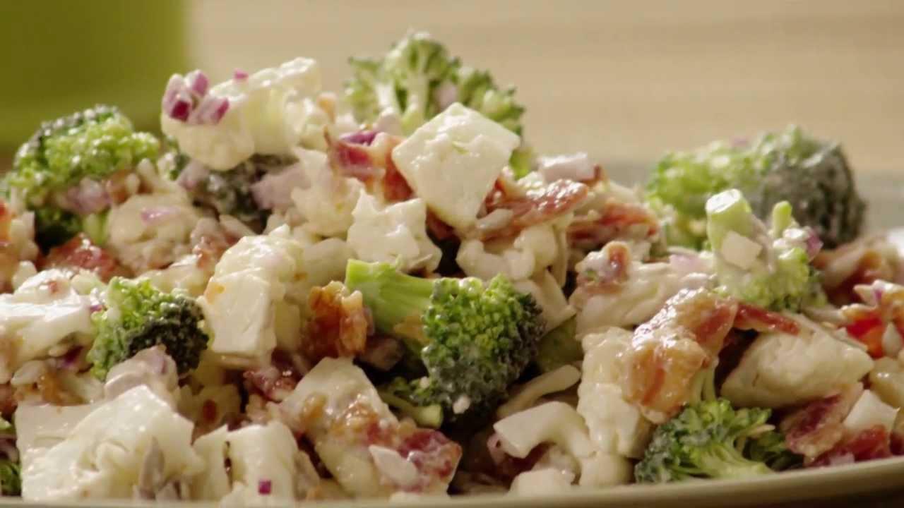 How To Make Broccoli Cauliflower Salad Salad Recipe Allrecipes Com