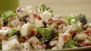 Salad Recipe - How To Make Broccoli Cauliflower Salad