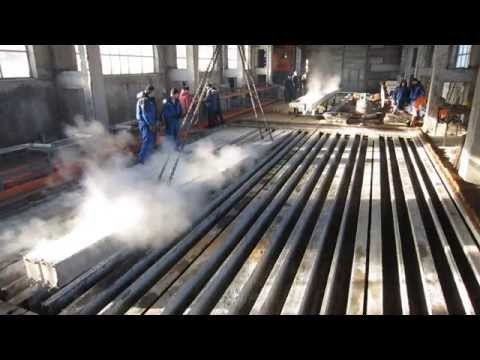 Готовый комплект оборудования для производства опор СВ production of piles and pillars