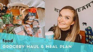 GROCERY HAUL & MEAL PLAN FOR A FAMILY OF 5