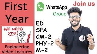 Whatsapp Group For First  Year  + AC lagana hai Bhai + Video kon kon bana raha hai