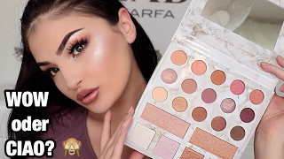 Carli Bybel Deluxe Edition Palette Livetest - WOW oder CIAO?   Dilara Duman