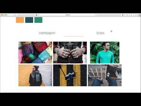 How to create a Portfolio in Adobe Muse Tutorial