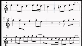 SaxKaraoke How deep is your love - Eb  - sin GUIA Sax alto - Balada Lenta