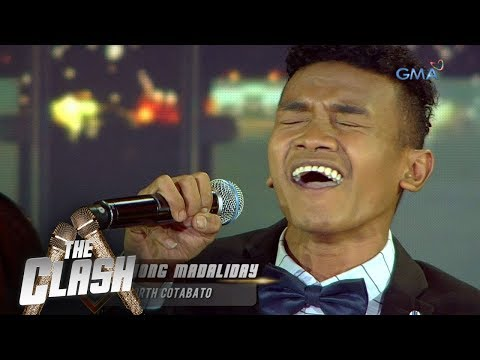 """The Clash: Jong Madaliday serenades the audience over with """"You're All I Need"""" 