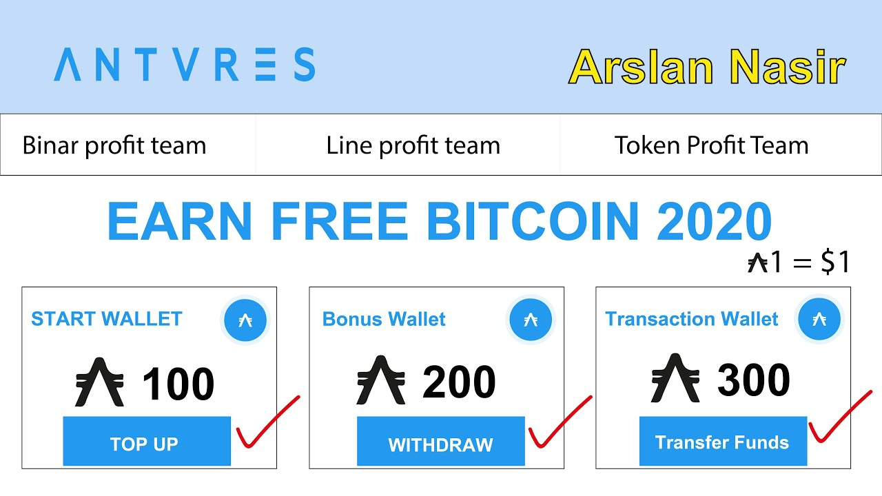 Antares Trade | New Bitcoin Earning Site 2020 | Earn Daily 100 ...