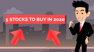 5 Best Stocks To Buy In 2020 #investing #stocks