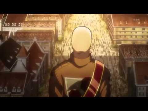 進撃の巨人 ドット・ピクシス演説