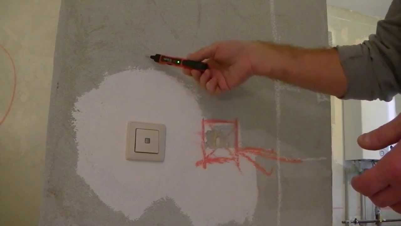 прибор для поиска скрытой проводки со схемой