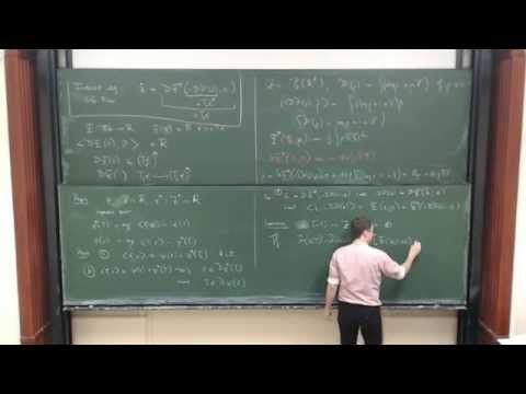 Mark Peletier: Variational Modelling Energies, gradient flows and large deviations (part 1)