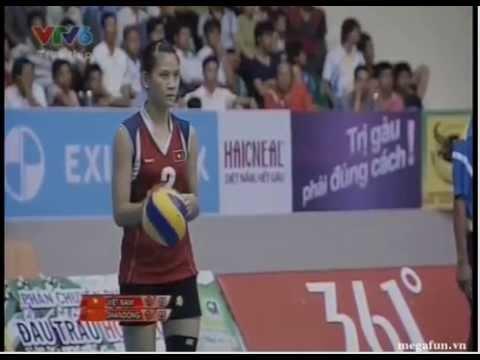 Vietnam vs Shandong - VTV Cup 2013 D3