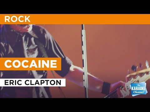 Cocaine in the style of Eric Clapton | Karaoke with Lyrics