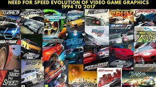 Need For Speed - Evolution of Video Game Graphics 1994 to 2017