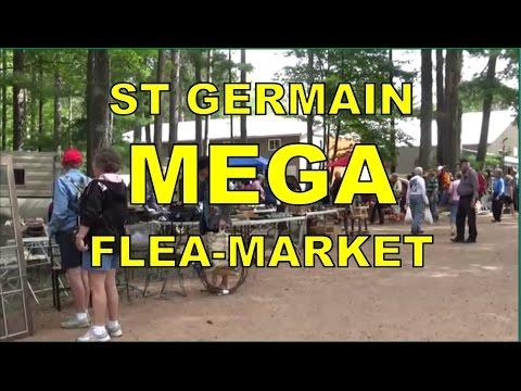 The AMAZING St Germain Flea Market (1 of Wisconsin's Largest!)