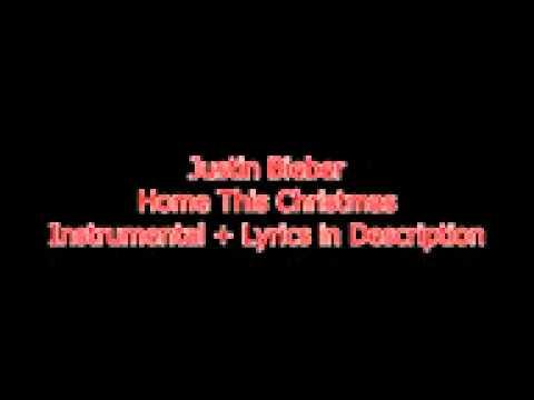 Justin Bieber - Home This Christmas Instrumental + Lyrics In Description