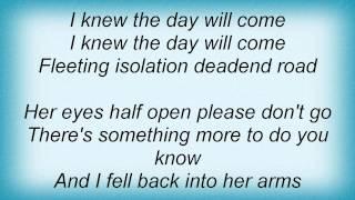 Deine Lakaien - Fleeting Lyrics