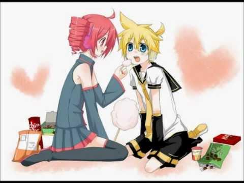 Kasane Teto and Kagamine Len -