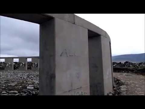 Stonehenge replica - Achill Henge, Ireland