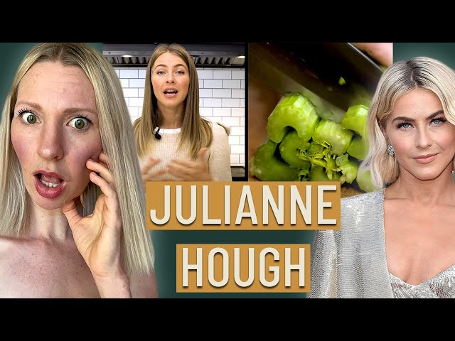 Dietitian Reviews Julianne Hough What I Eat In A Day (WOW Our New Wellness Culture B-S QUEEN)