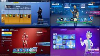 Evolution of Fortnite Battle Pass Items (Chapter 1 Season 2 - Chapter 2 Season 7)