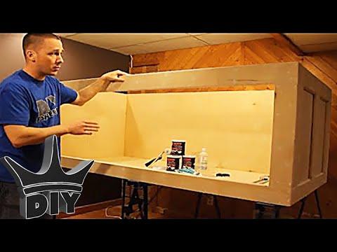 How To Build A Plywood Aquarium Part 1 Building The