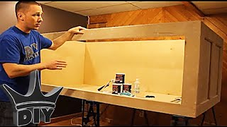 HOW TO: Build a plywood aquarium Part 1 Building the tank TUTORIAL