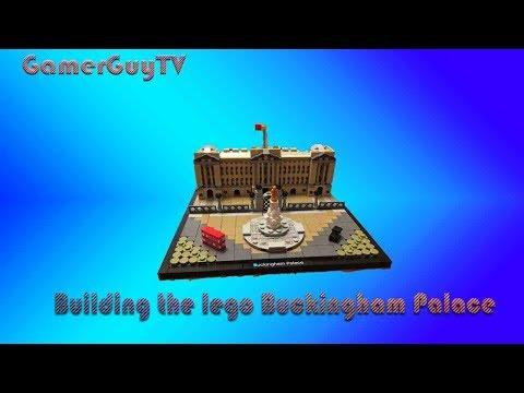 Building the Lego Buckingham palace! | time lapse