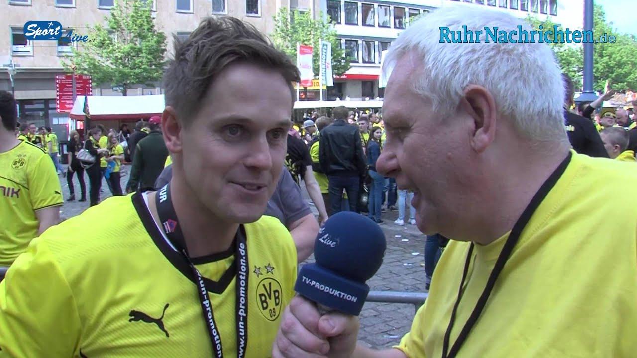 Eindrücke vom Public Viewing am Dortmunder Friedensplatz