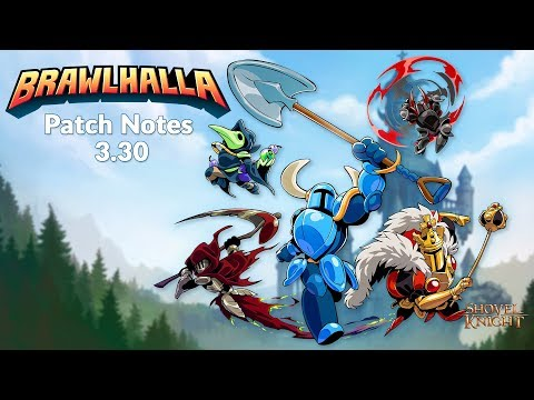 Shovel Knight Crossover Event - Patch 3 30 - Brawlhalla