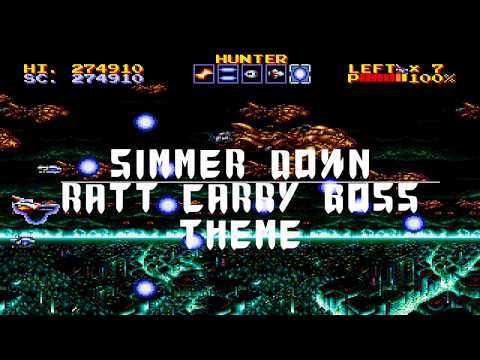 """Metal Cover / Thunder Force IV (""""Simmer Down"""" Boss 3 / Air Raid Stage)"""