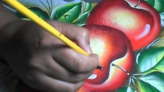 Aprendendo a pintar gotas de Orvalho com Lia Ribeiro