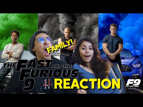 Fast & Furious 9 – Official Trailer Reaction