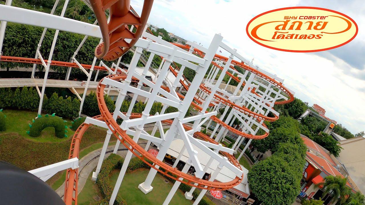 Sky Coaster 4K POV - Dream World Thailand | รถไฟเหาะ สกายโคสเตอร์ สวนสนุกดรีมเวิลด์