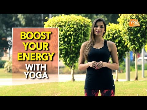 Yoga To Boost Your Energy | Standing Spinal Twist | Yoga Tak