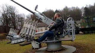 how to use a swedish bofors warship cannon 40mm m 48